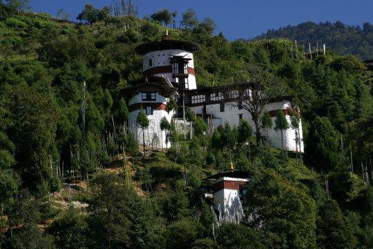 Ta Dzong in Trongsa