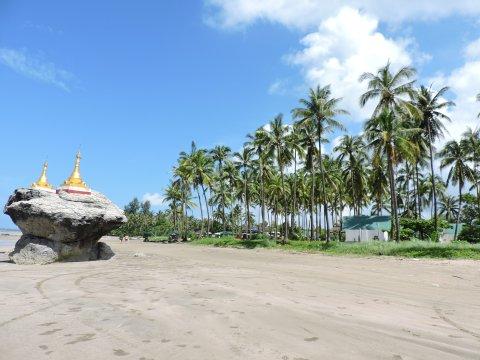 Palmenstrand Ngwe Saung