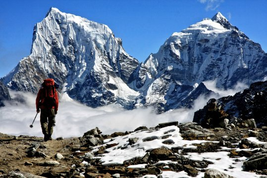 Khumbu Abstieg  nach  Gokyo_2