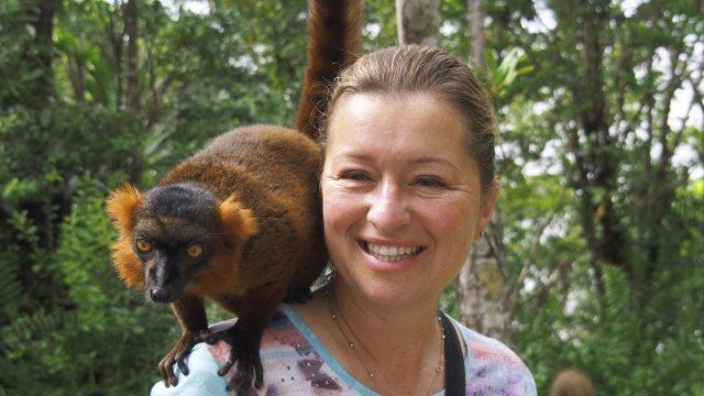 Lemur auf der Schulter_2