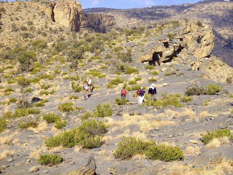 Wandern_Jebel_ShamsWandern Jebel Shams