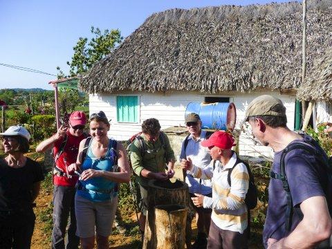 Besuch Tabakbauerfamilie im Tal von Vinales_2