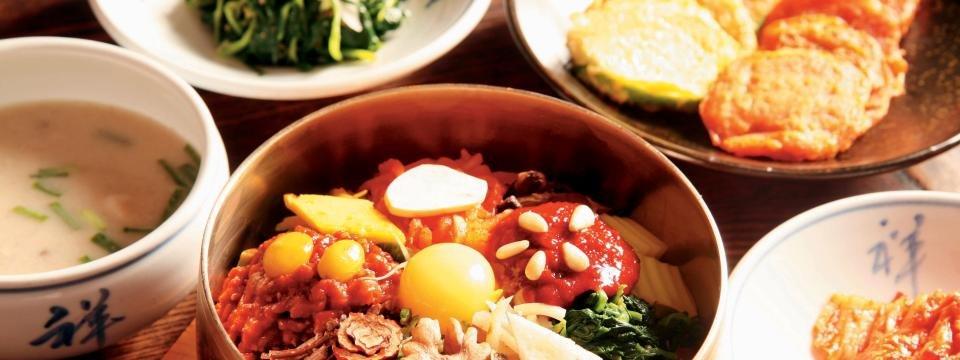 Südkorea traditionelles Essen