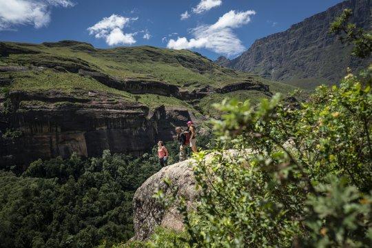 Auf dem Tugela Gorge Trail