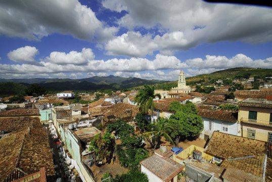 Ausblick auf Trinidad auf Kuba