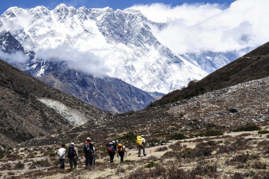 Nuptse Lhotse Mauer