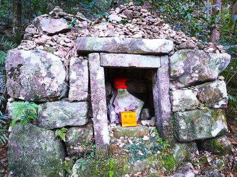 Jizo auf dem Kumano-Kodo-Pilgerweg