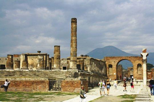 Pompeij und Vesuv