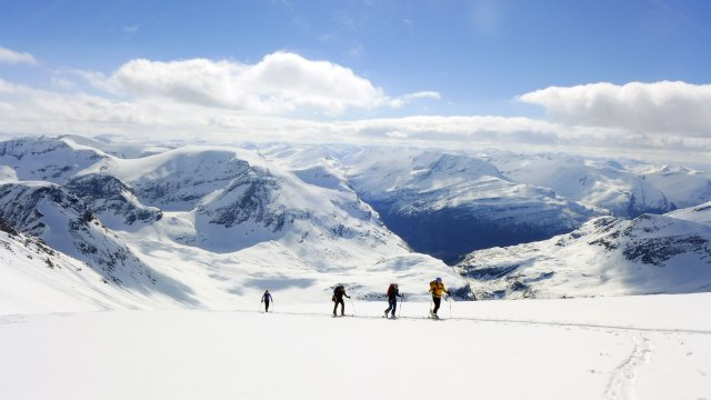 Norwegen Lofoten Ski 4