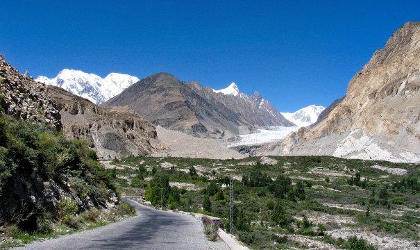 Pakistan - Passu-Gletscher bei Patundastreck