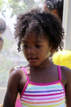 Kreolisches Mädchen