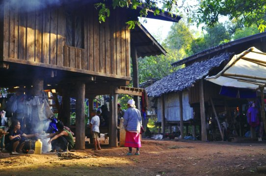 Dorfleben in den Bergen Nordthailands_2
