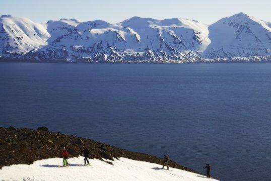 Island Skiaufstieg Gruppe_2