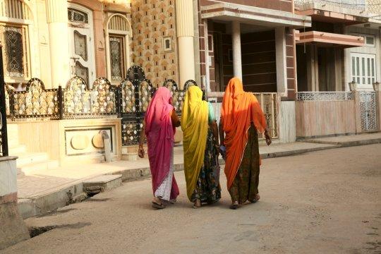 Sarivielfalt in Rajasthan