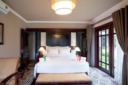 Anja Resort Zimmerbeispiel Deluxe Villa mit Balkon oder Terrasse