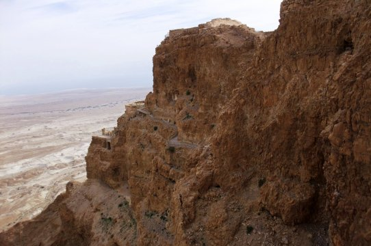 Massada Königpalast Herodes_2