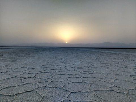 Salzebene in der Danakil