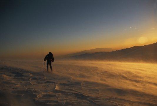 Skitour in den Südkarpaten