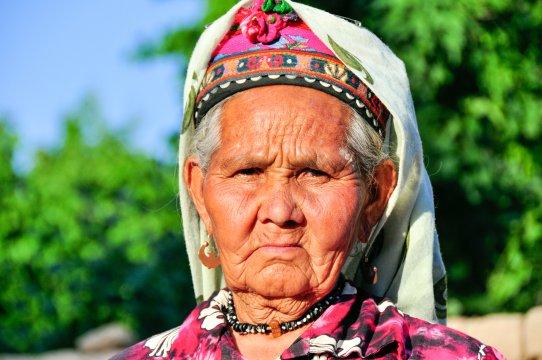 Usbekin in Tracht
