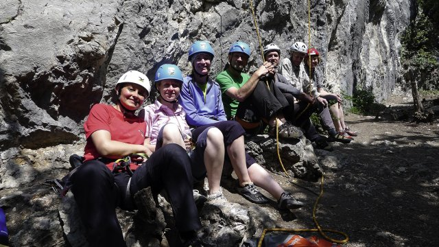 Klettern Gruppe Arco 2