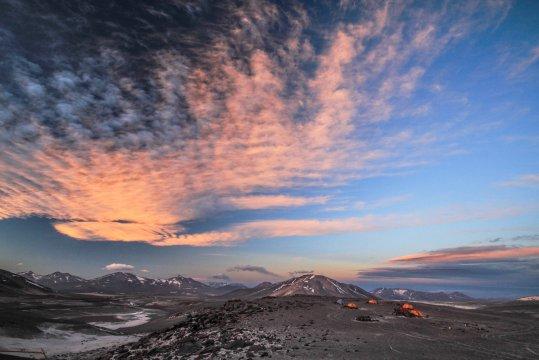 Camp Atacama am Ojos del Salado