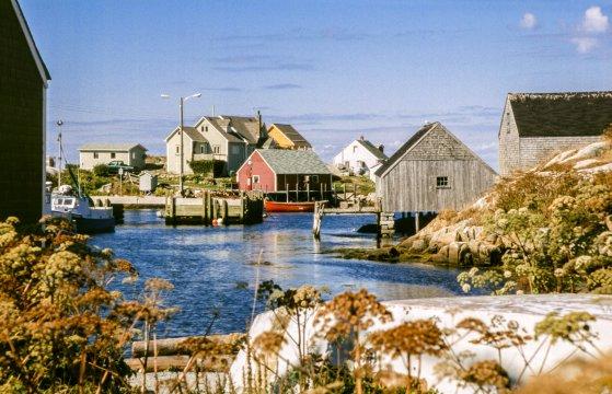 Kanada Nova Scotia Fischerdorf Peggys Cove