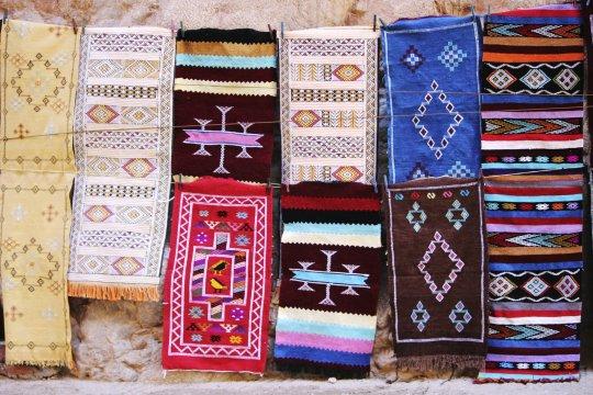 Marokko Traditionelle Berber Teppiche Todra Tal_2