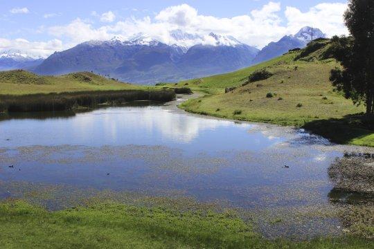 Kleiner See am Huaraz Laguna Willcacocha_2
