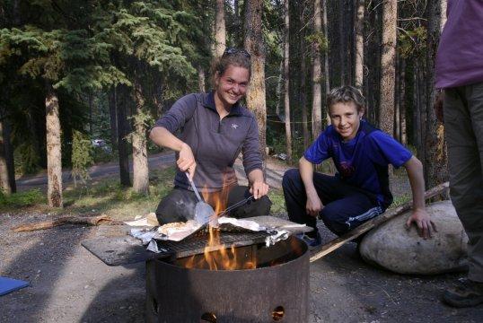 Grillen im Camp_2