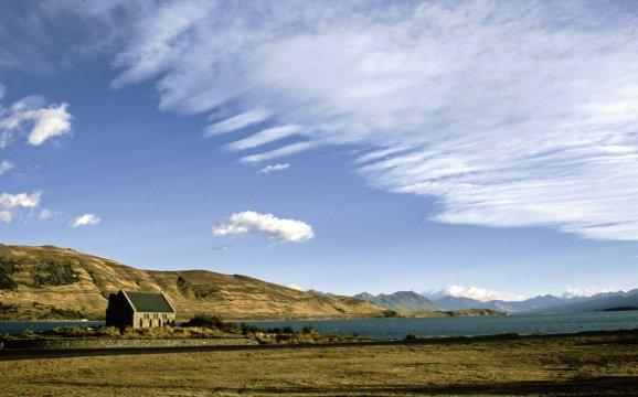 Lake Tekapo mit fantastischer WolkenbildungLake Tekapo 0131
