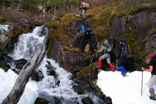Kletterpasage