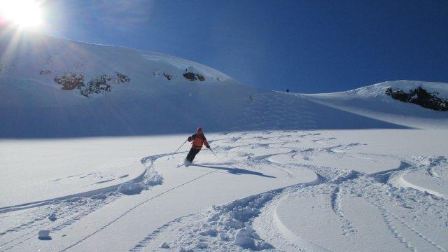 Winfried Flossdorf Abfahrt in Norwegen