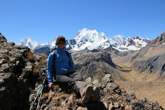 Cordillera Huayhuash Rast