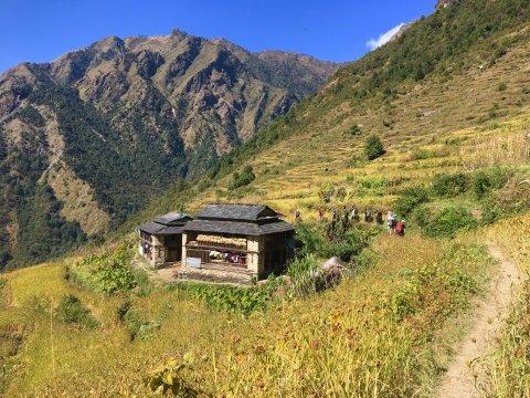 Malkabang auf dem Dhaulagiri-Trek