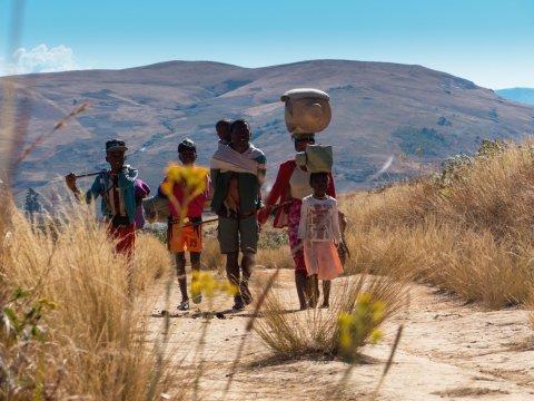 Madagaskar-Familie-unterwegs