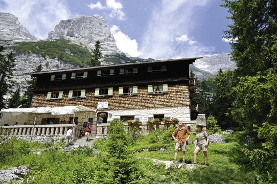 Reintalangerhuette_Zugspitze 2