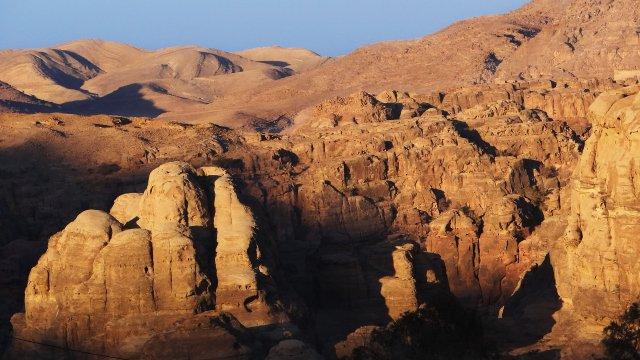 Bergland Trekking in Jordanien