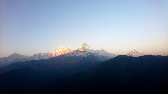 Annapurna-Kette vom Poon Hill