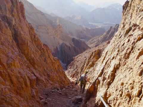Israel-Negev-Mount-Yoram-Gebirge