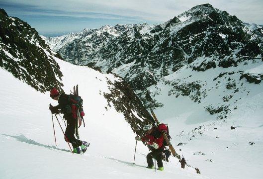 Trekker unterwegs zum Akiuod