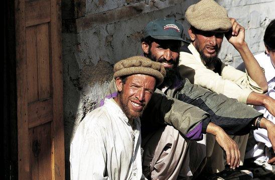 Pakistanische Begleitmannschaft