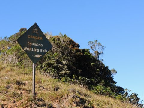 Horton-Plains-Nationalpark, Worlds-End