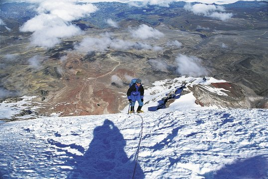Besteigung des Chimborazo