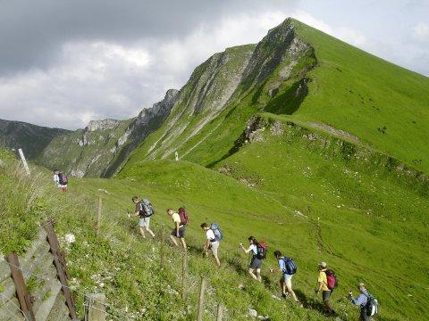 Zustieg Tölzer Hütte im Karwendel 2