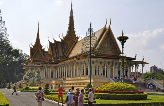 Kambodscha Phnom Penh Koenigspalast_2