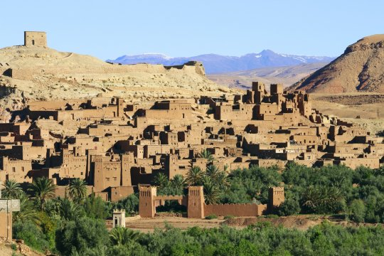 Marokko Ausblick auf Ait Benhaddou_2