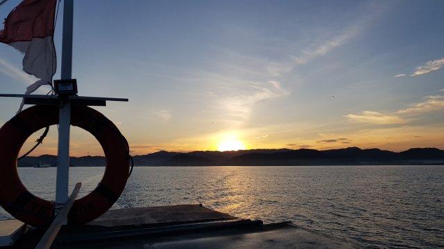 Mit dem Boot nach Komodo Island
