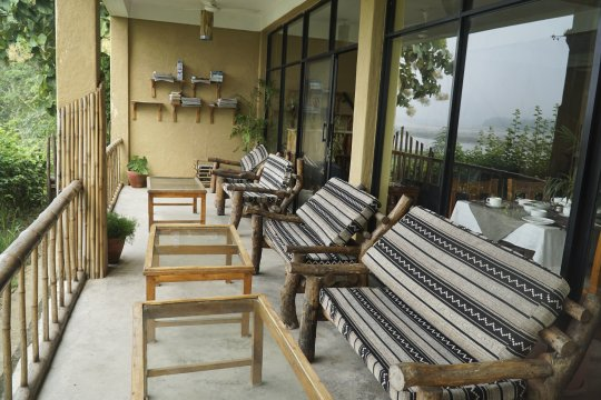 Terrasse des Into the Wild Eco Resorts