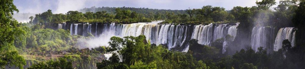 Iguazu Falls aka Iguassu Falls or Cataratas del Iguazu Misiones Province Argentina_2
