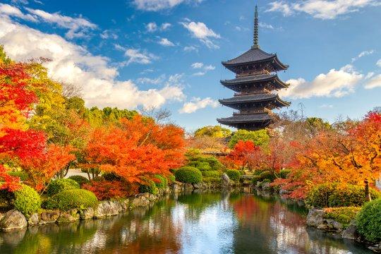 Toji Pagode in Kyoto